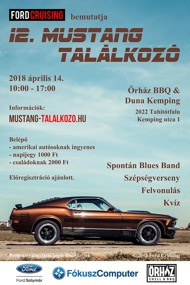 Mustang találkozó 2018