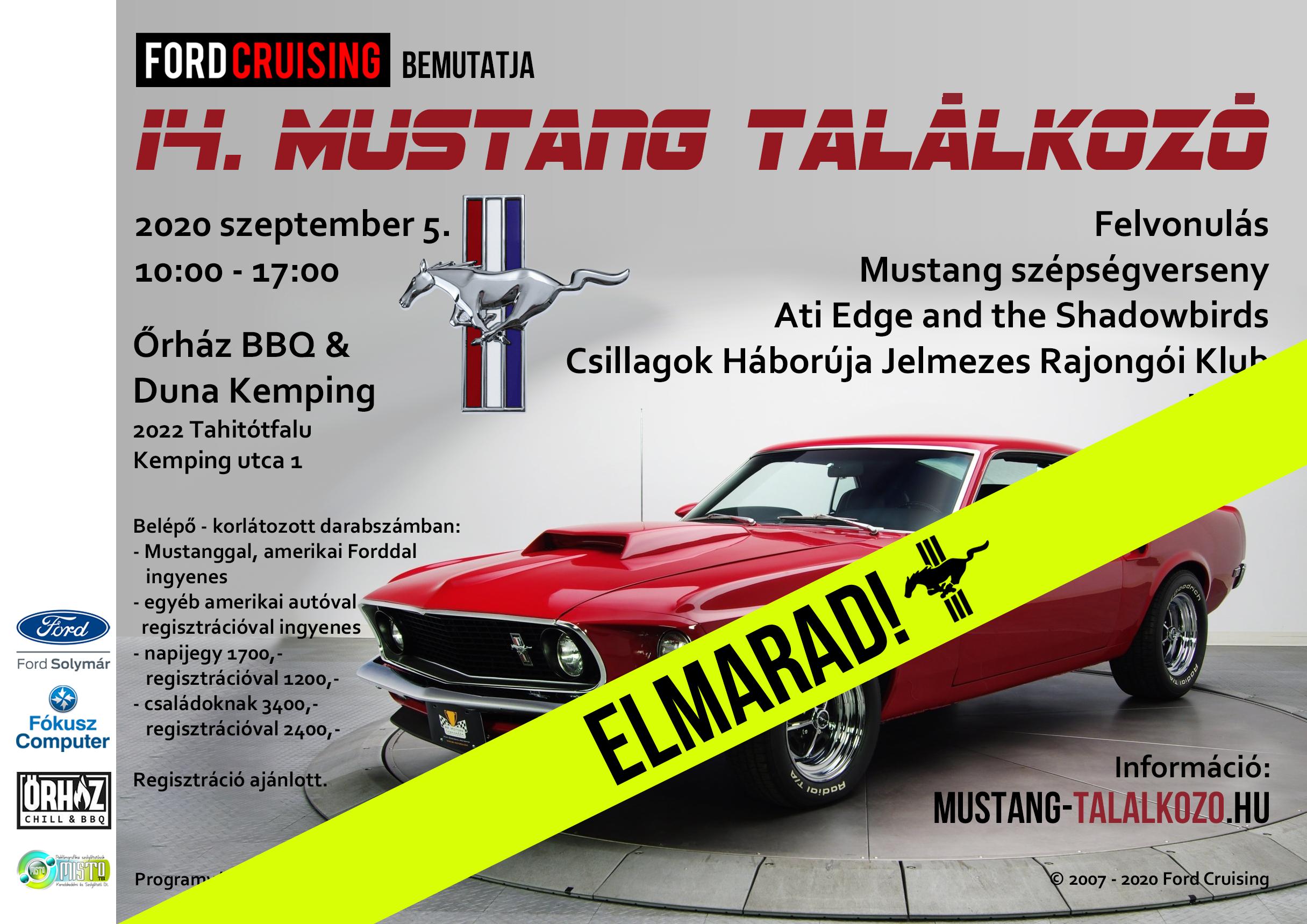 14. Mustang találkozó